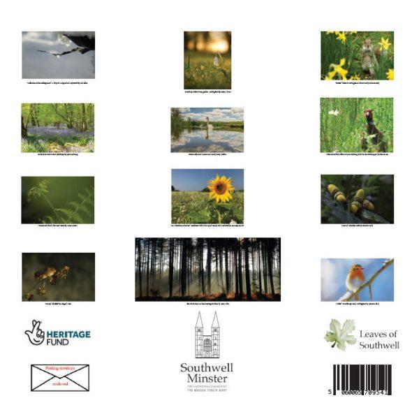 Nature Calendar 2022 back