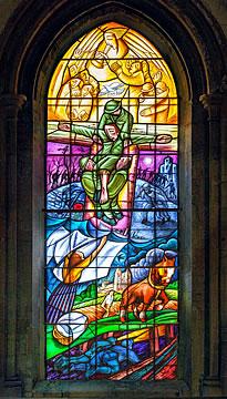 Great War Memorial Window by Nicholas Mynheer