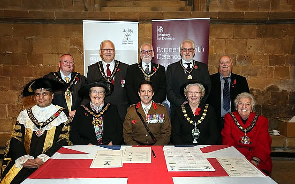 Minster hosts County Centenary Commemoration of the end of WW1