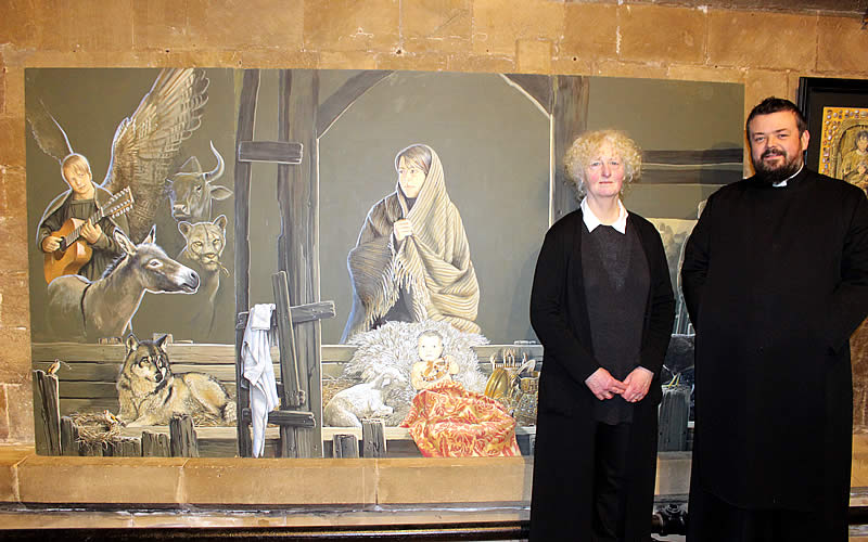 Nativity for a New Year Exhibition launched in Minster