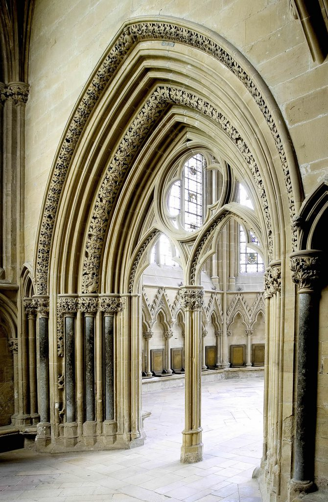 Entrance to the Chapter House at Southwell Minster