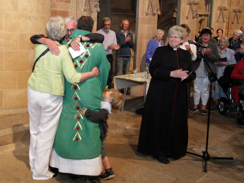Minster says farewell to Canon Nigel