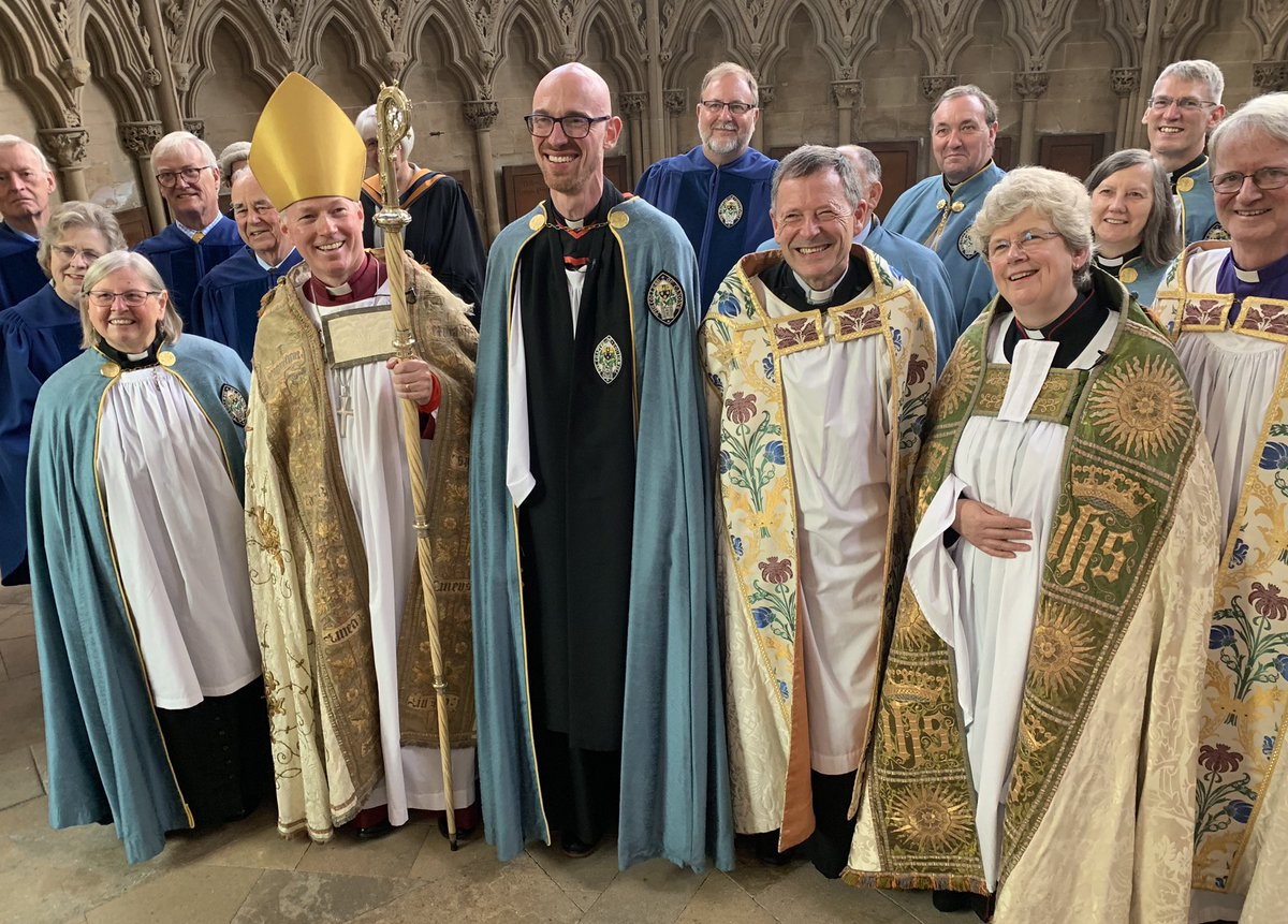 New Precentor welcomed to Southwell Minster