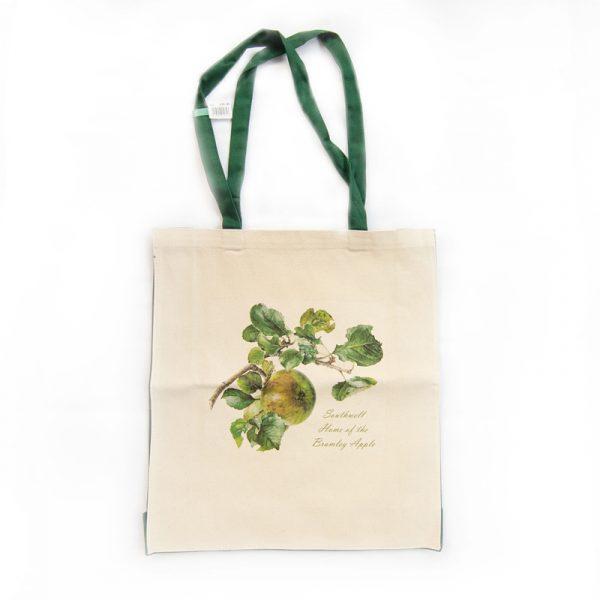 Bramley Apple Bag Green Handles