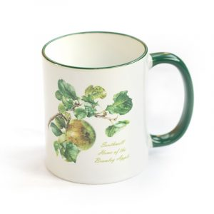 Bramley Apple Mug Green Handle