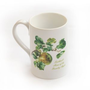Bramley Apple Mug White Handle