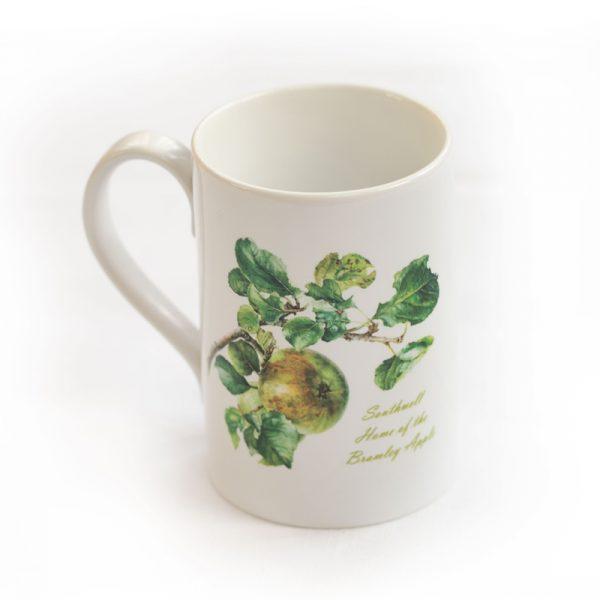 Bramley Apple Mug White Handle