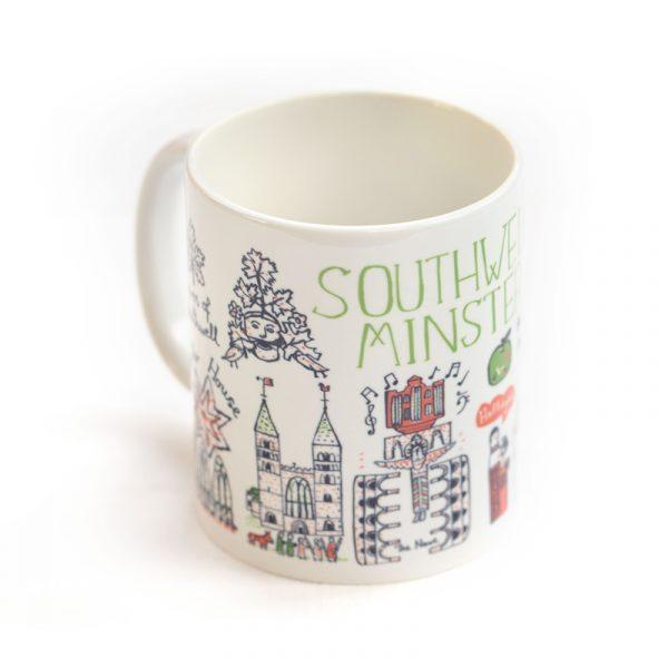 Southwell Minster Cityscape Mug