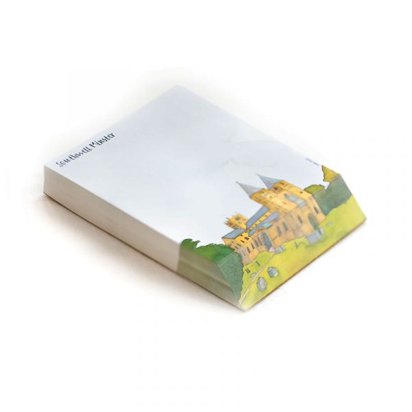 Southwell Minster Notepad by Emma Ball