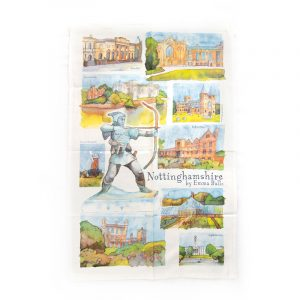 Tea Towel Nottinghamshire