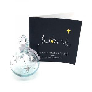 Bethlehem Bauble Clear
