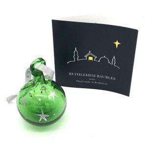 Bethlehem Bauble Green