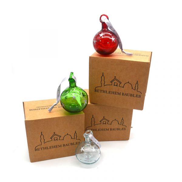 Bethlehem Bauble Group with boxes