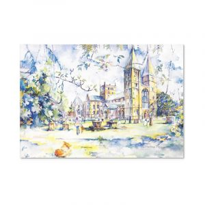 Christine Measures - West End Greeting Card