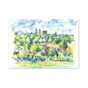 Christine Measures - Southwell Minster Greeting Card