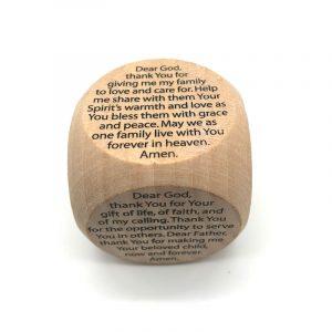 Prayer Cube