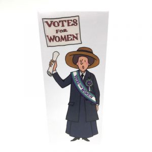 Alison Gardiner Suffragette Bookmark