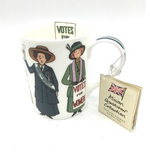 Alison Gardiner Suffragette Bone China Mug