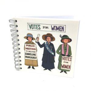Alison Gardiner Suffragette Notebook