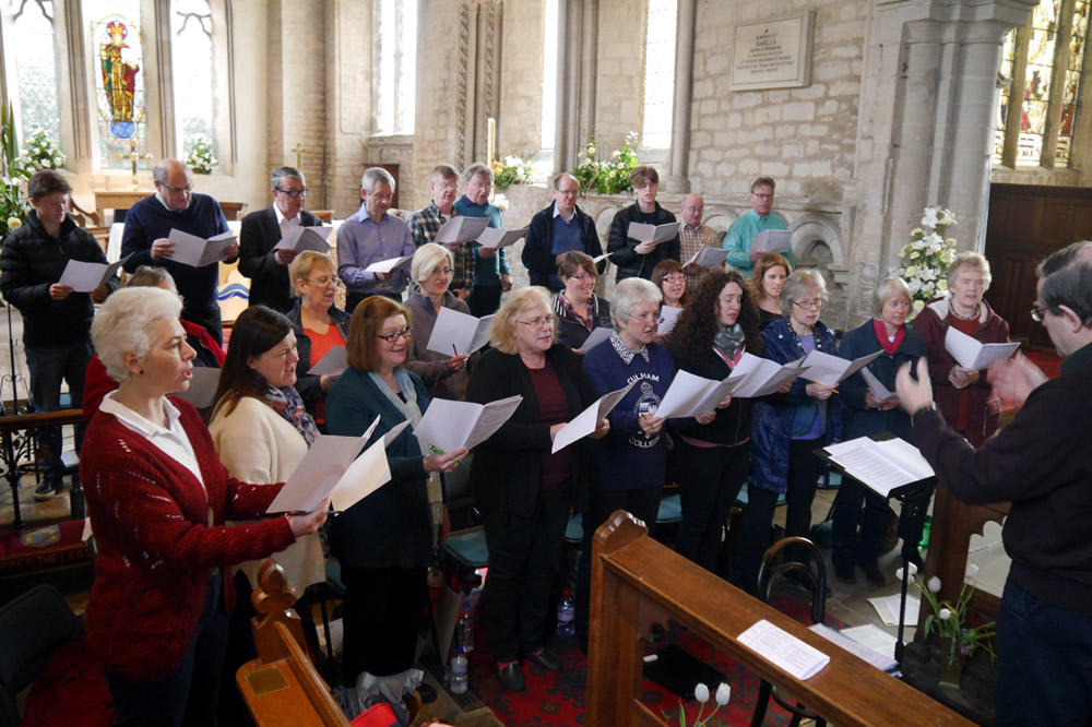 The Tudor Singers recording the Music of Eric Thiman CD