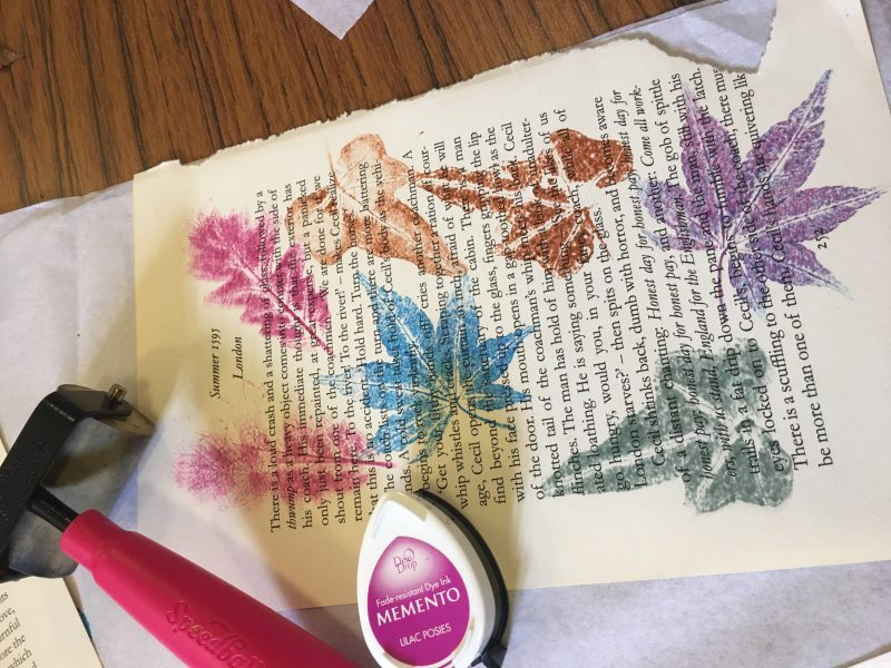 Adult Leaf Printing Workshop