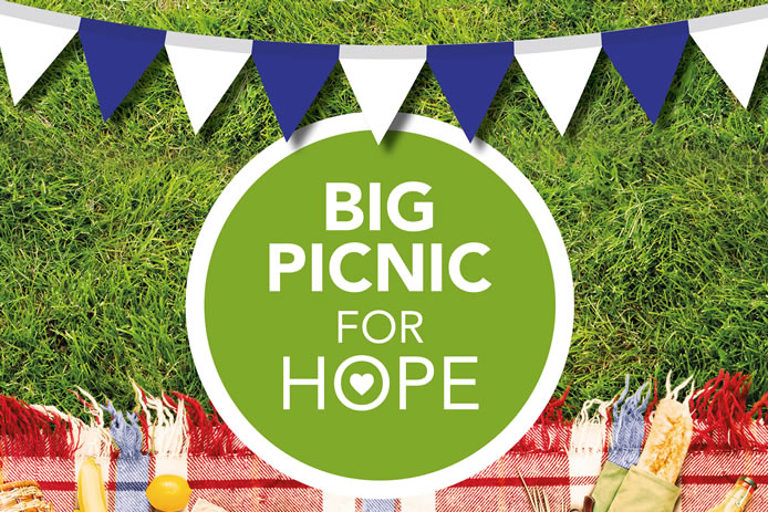 Big Picnic for Hope on Friday 8 May