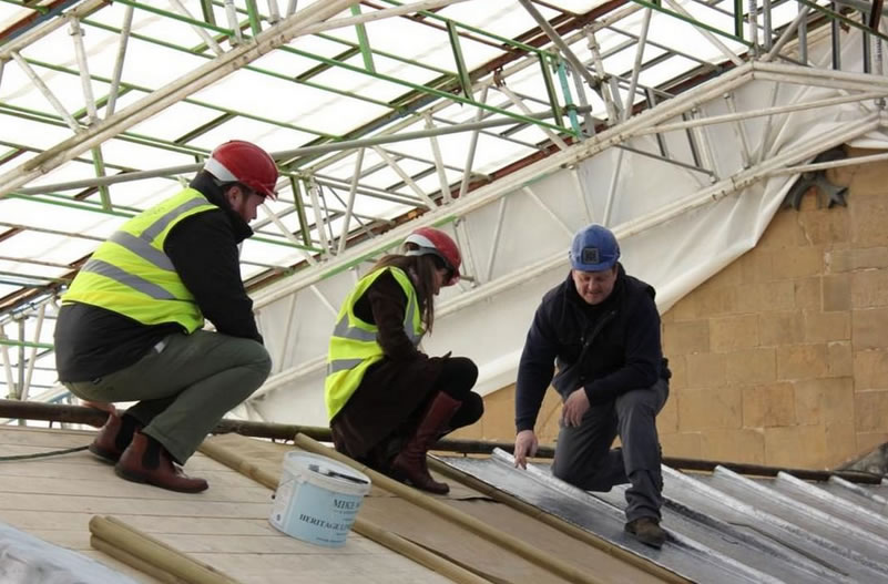 Minster Roof Works to Resume