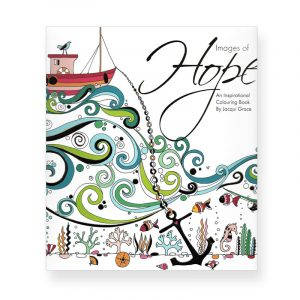 Images of Hope Colouring Book cover