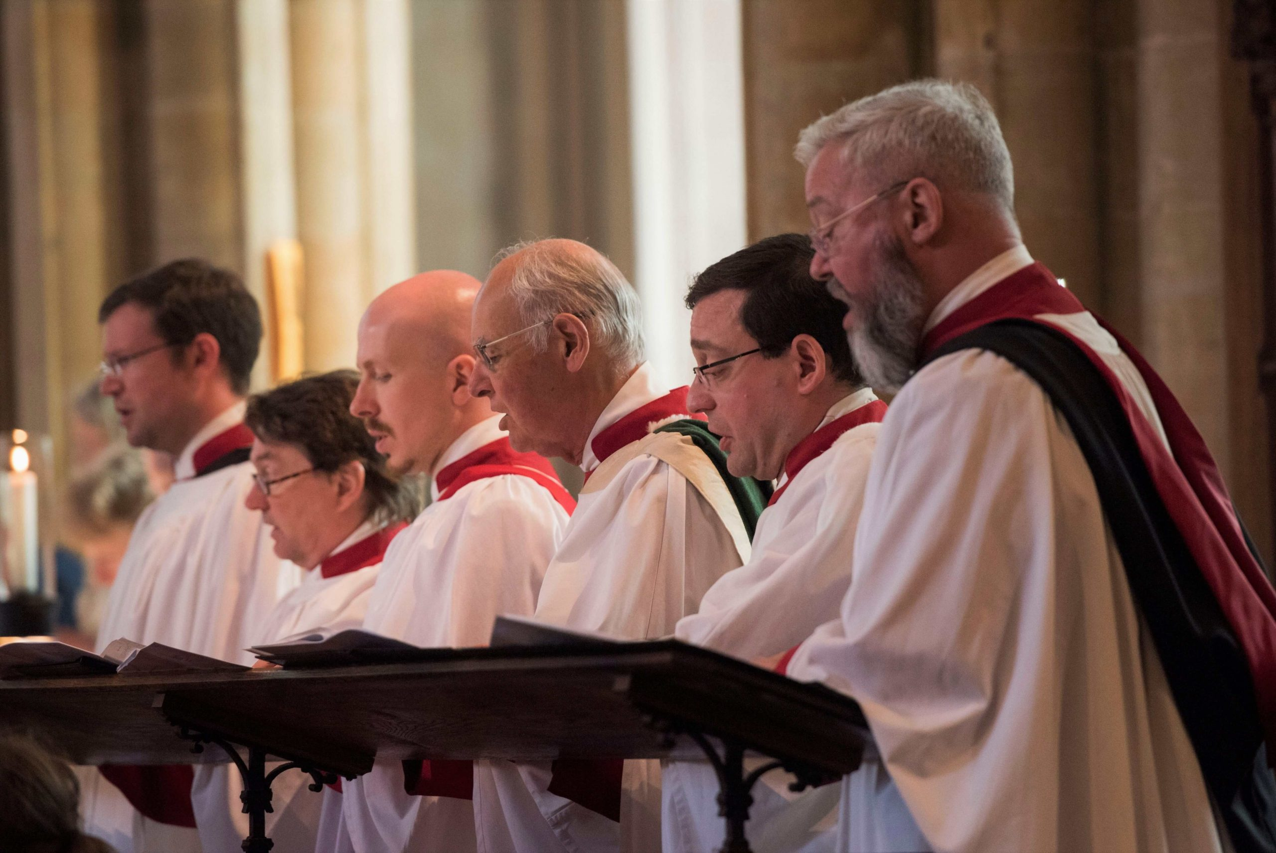 Singing returns to Southwell Minster