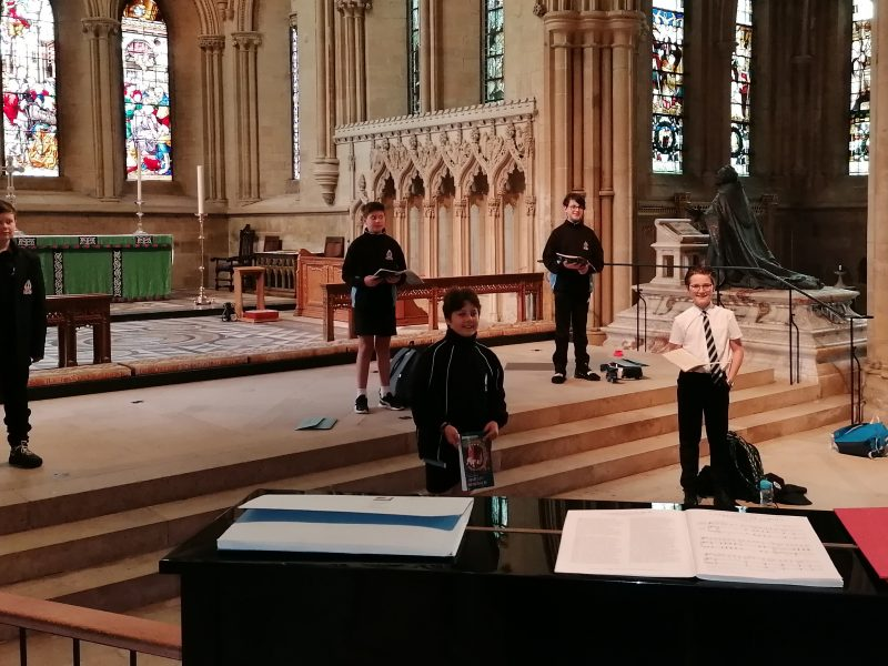 Southwell Minster Choir returns