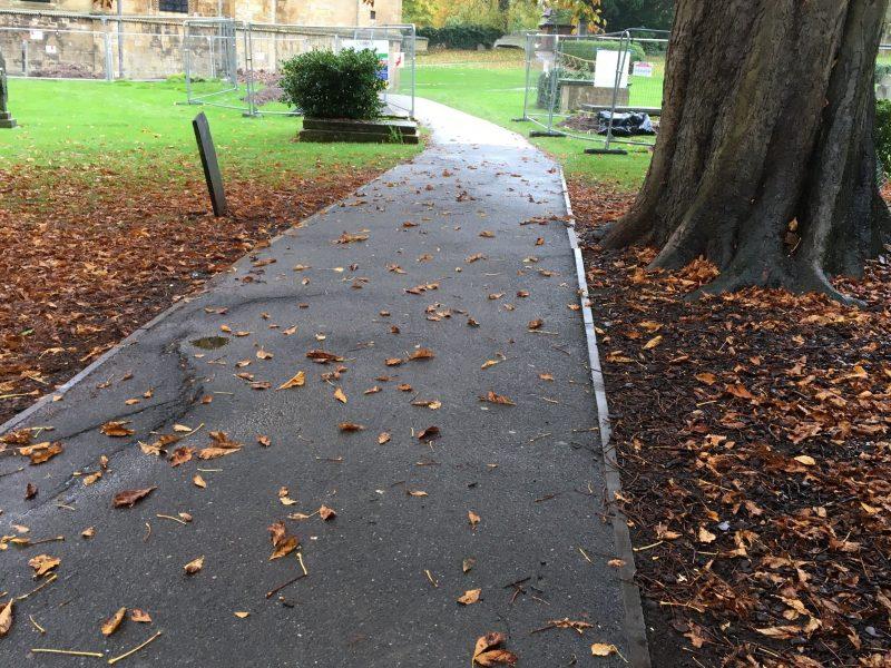 Footpath closure – Wednesday 28 October