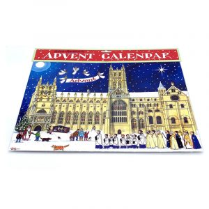 Advent Calendar Christmas at the Cathedral by Alison Gardiner