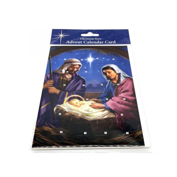 Advent Calendar Card Christmas Story