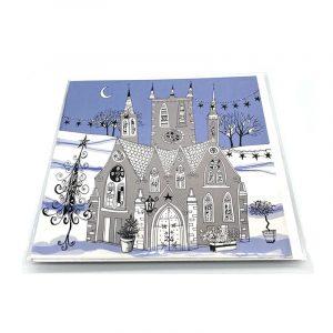 Advent Calendar Card Gothic Church