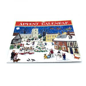Advent Calendar Christmas in the Village by Alison Gardiner