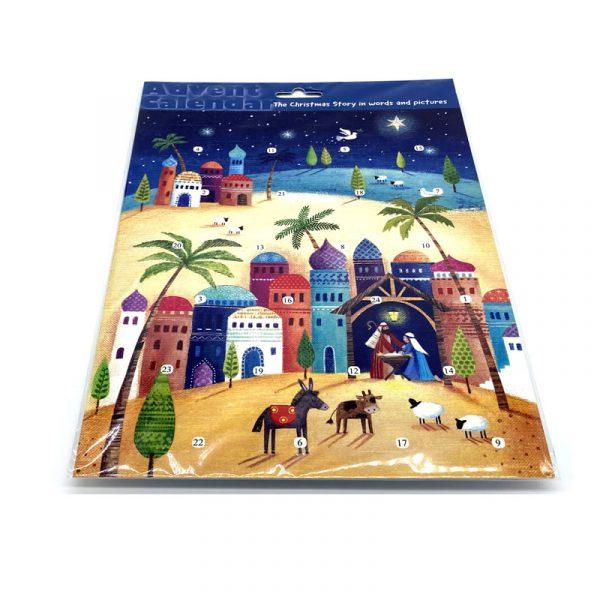 Advent Calendar Colourful Bethlehem