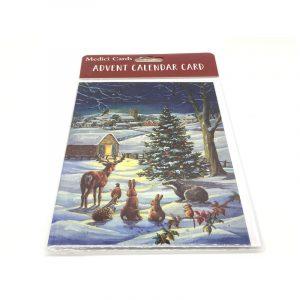 Advent Calendar Card Woodland Creatures