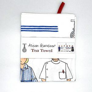 Alison Gardiner Nursing Tea Towel