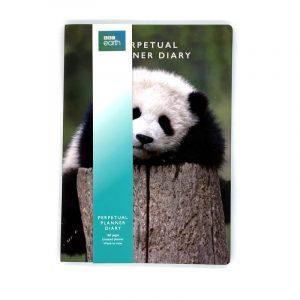 BBC Earth A5 Perpetual Planner Diary Panda