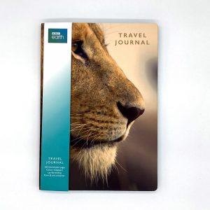 BBC Earth A5 Travel Journal Lion