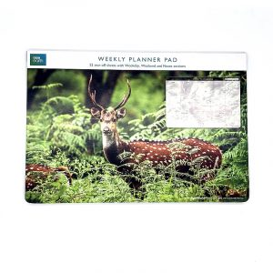 BBC Earth Weekly Planner Pad A Chital Deer