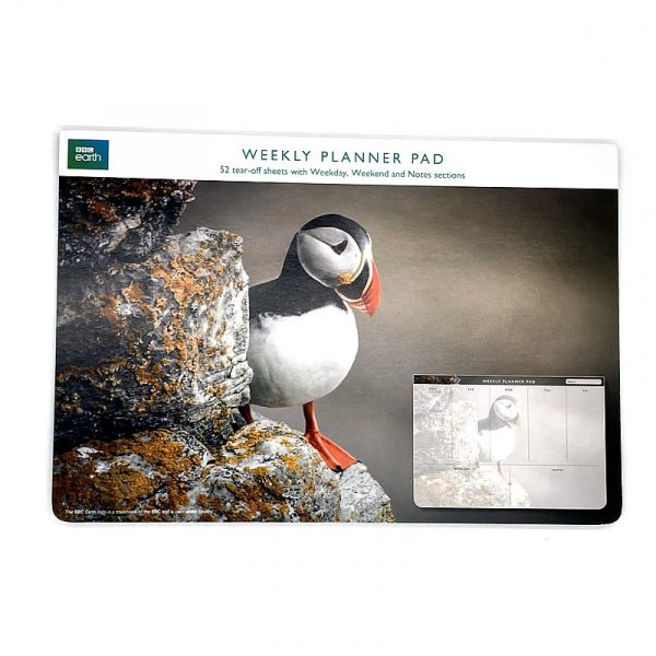 BBC Earth Weekly Planner Pad Puffin