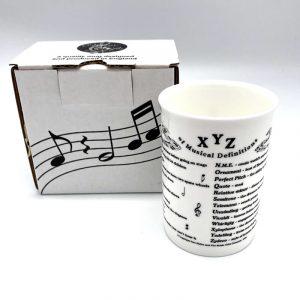 China Mug Musical Definitions