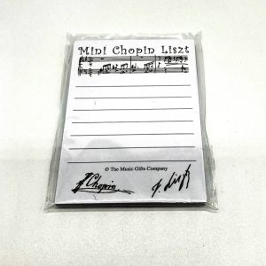 Chopin Liszt Sticky Notes