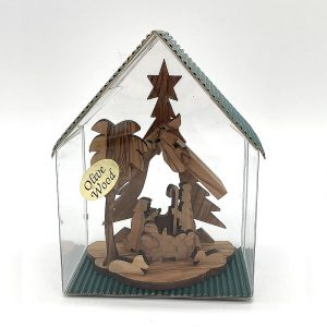 Fair Trade Olive Wood Nativity