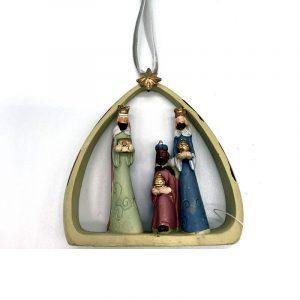 Hanging Christmas decoration Three Kings