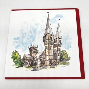 Qwerky Southwell Minster Card