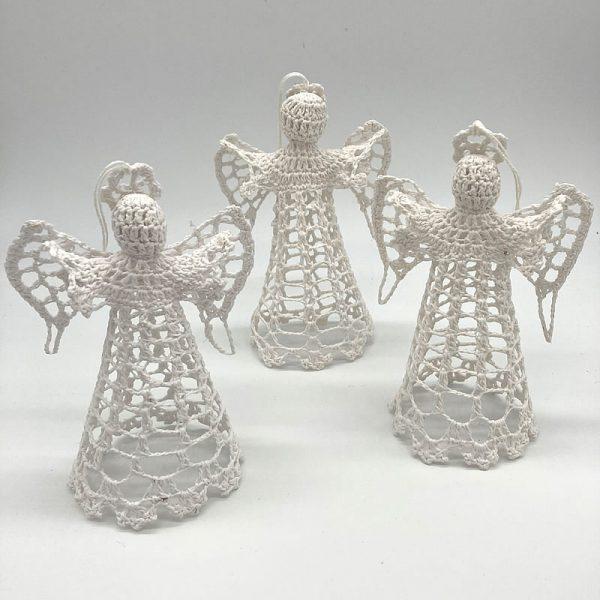 White Crochet Angel