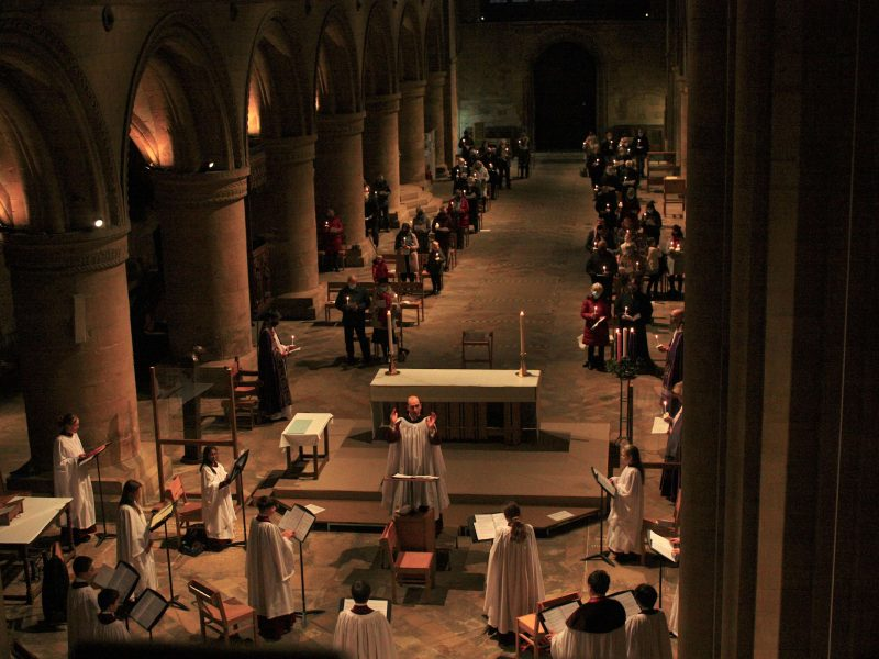 Southwell Minster's Advent Carol Service to be shown on Notts TV
