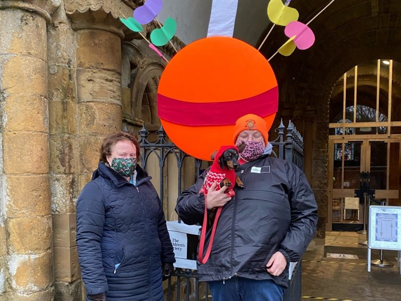 Christingle Trail enjoyed by over 350